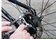 how to repair bike chain